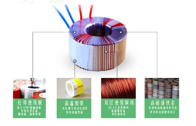 30 VA to 2000 VA Power Toroidal Transformer Power