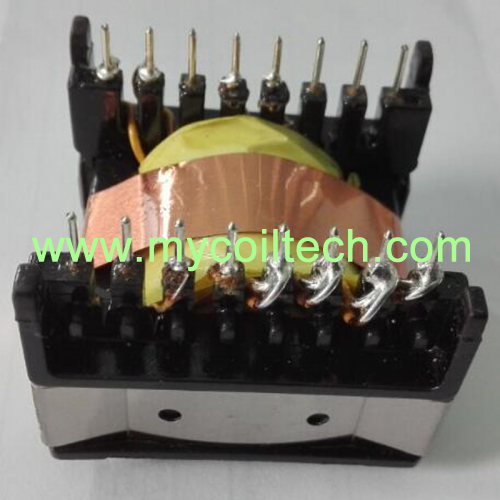 70~140W ETD39 Vertical (8+8) Pin Flyback Transformer