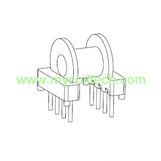 EP10 electronic transformer horizontal bobbin