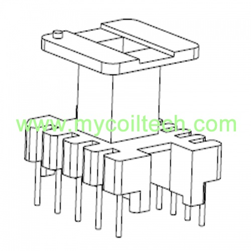 5+8 Pin EI25 Vertical Transformer Bobbin Manufature