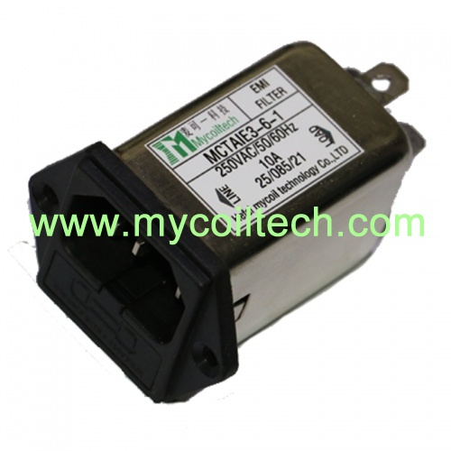 1a-10a iec power emi filters